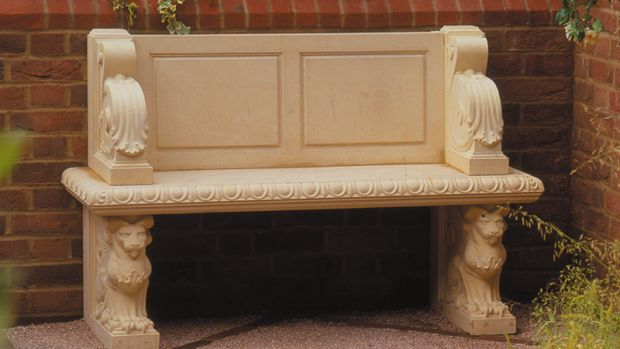 hadrian seat bench from haddonstone