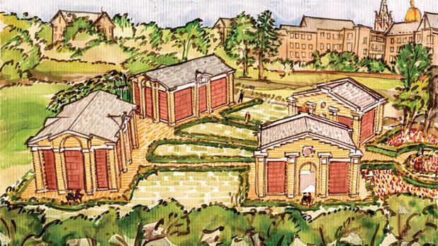 Thomas Gordon Smith drawing