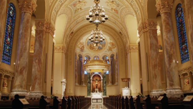 historic restoration of the Cathedral of St Jospeh