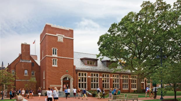 Howard Dutton Taft Dining Hall at the Taft School