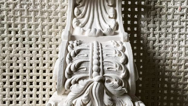 ornate corbel