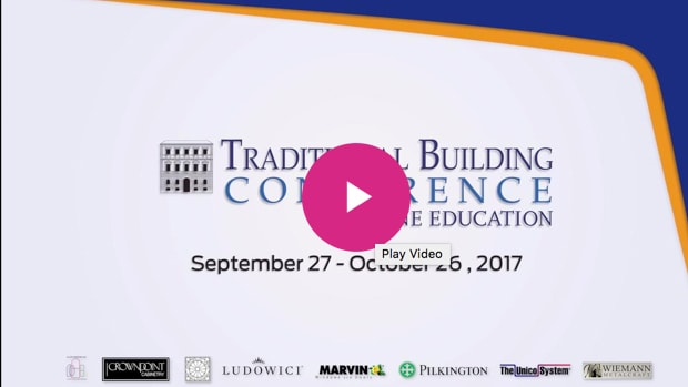 traditional building conference online education