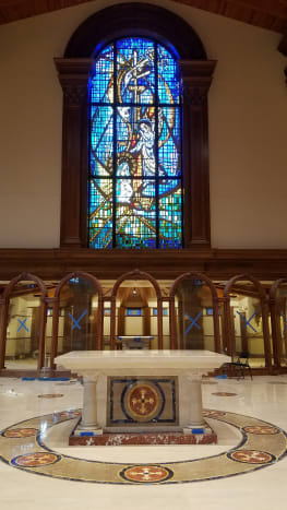 Baker Liturgical did a complete renovation of the Annunciation Catholic Church in Altamonte Springs, FL.