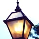 The artisans at Herwig handcrafted this traditionally styled exterior lantern.