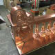B&B Sheetmetal specializes in copper sheetmetal ornament as shown.