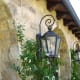 This six-sided wall lantern is available from Lantern Masters.