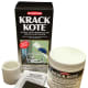 Abatron's Krack Kote can be used to repair cracks in walls and ceilings; it can be used on drywall, plaster, stucco and wood and it moves with the material so repair does not re-open.