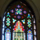 Rohlf's Studio provided the stained glass windows for the Old St. Patrick's Church in NY.