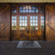 Vintage Homes and Millwork handcrafted custom doors for this project.
