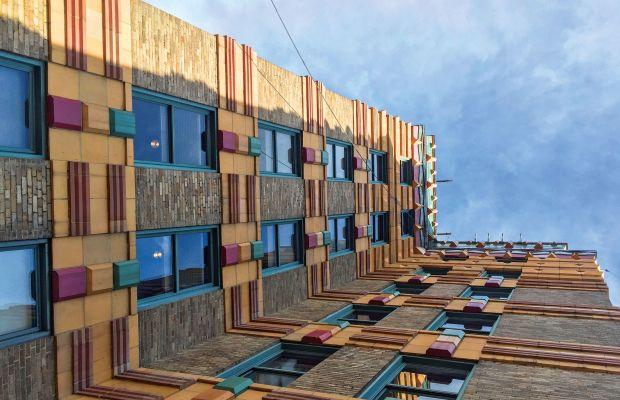 The Façade of  a Building