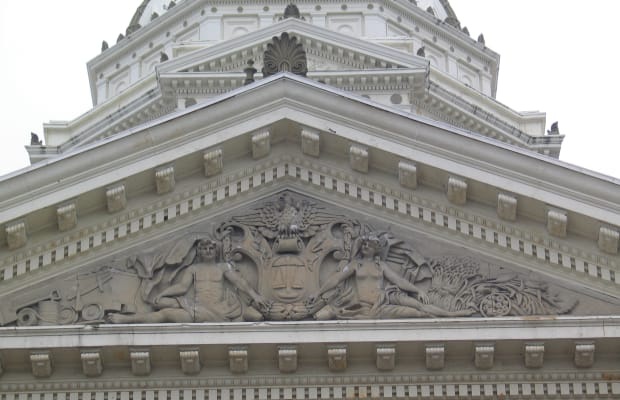 Metalwork Restoration at the Marion County Courthouse