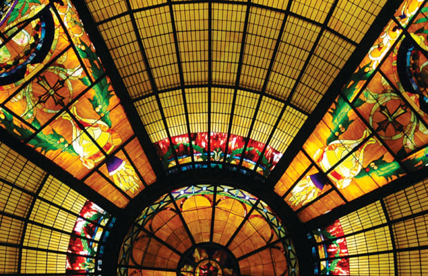 A New Stained-Glass Church Dome in Little Rock