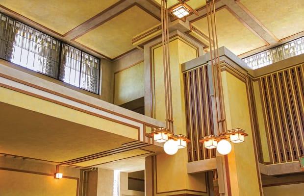 Restoring Frank Lloyd Wright's Unity Temple
