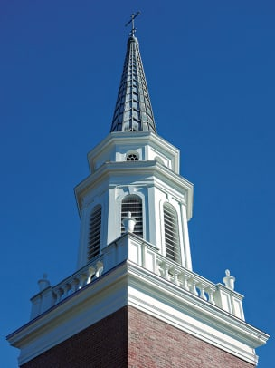 Grand Rapids Auto Parts >> Steeple Restoration at Two Historic Churches - Traditional Building