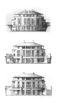 TSmierzchalski - North Villa_East Elevation