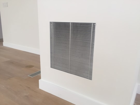 AAG Patented JBEAD Frame  Installed in Wall