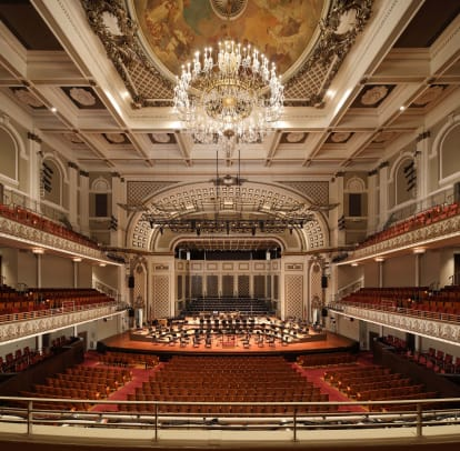 Evergreene Cincinnati Music Hall