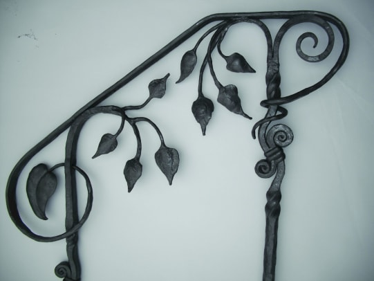 Bill's Custom Metal railing 3