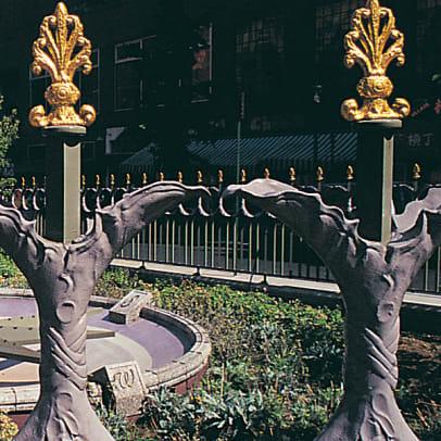 Robinson iron fence