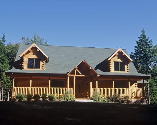 Ward Log Homes Norfolk-Exterior