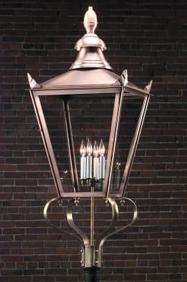 Lighting by Hammerworks Street lamp
