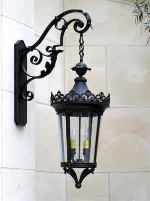 Lantern Masters Kelian Large Wall on Sylvia's Arm