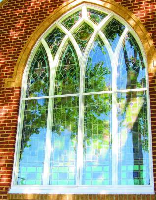 Arch Angle window