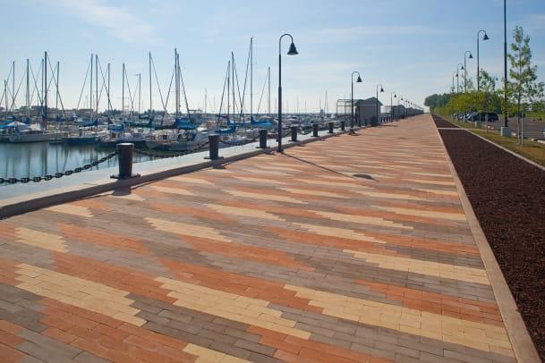 Belden Brick paver dock