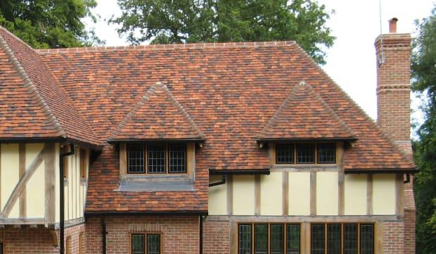 3 Northern Roof Tiles From England Handmade Tudor shingle tiles
