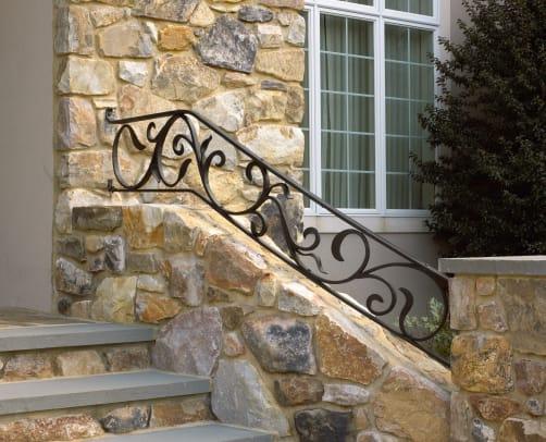 Heritage Metalworks - Exterior Stair Railing