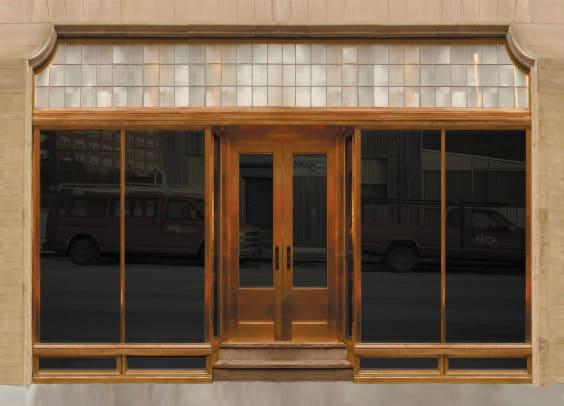 NIKO Copper Storefront & Doors