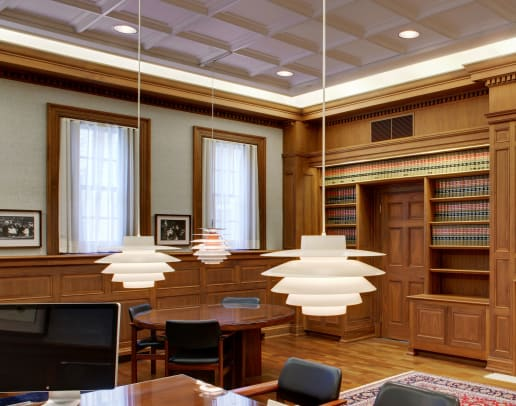 Above View JudgeChamber_Executive