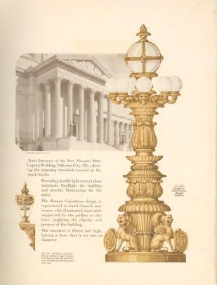 B. Original Guth rendering for Missouri State Capitol