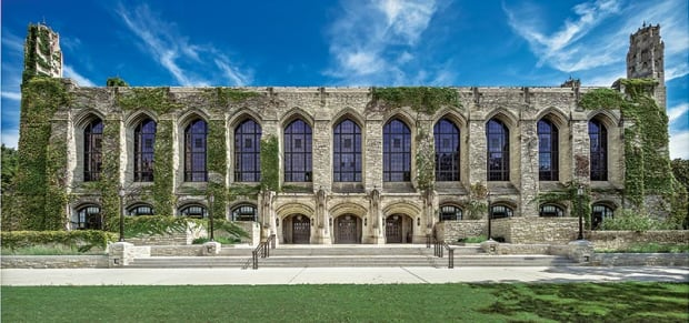 HBRA Architects Restore the Charles Deering Library's West Entry