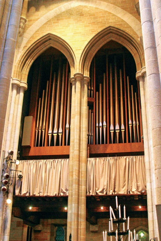Historic Doors' Worshipful Woodwork at Bryn Athyn Cathedral