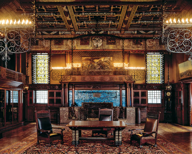 Gilded Age Gem: The Veterans Room at the New York Armory