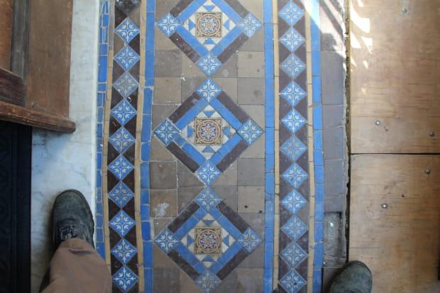 Time and the Encaustic Tile Vestibule
