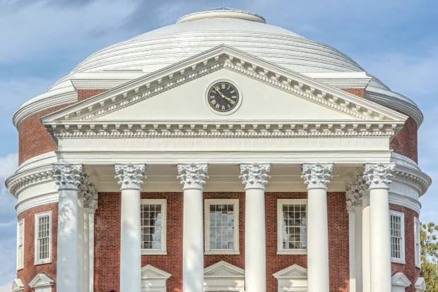 John G. Waite Associates, Architects: Rotunda at the University of Virginia