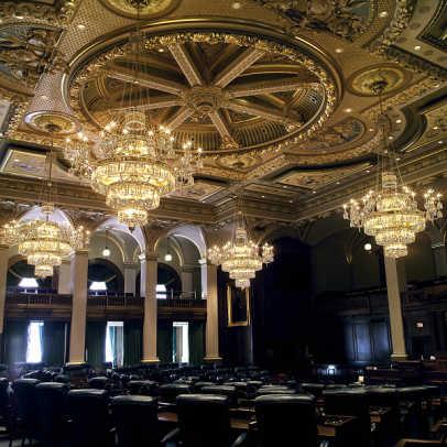 st louis antique lighting illinois state capitol