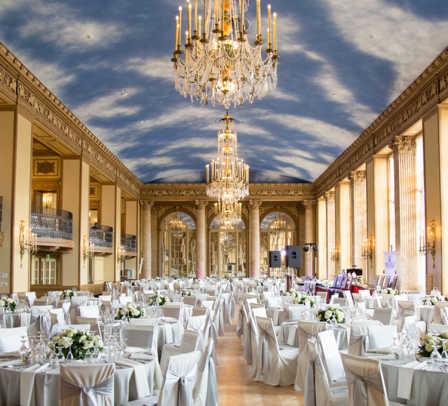Marriott Syracuse Downtown Grand Ballroom Historic Chandelier Restoration