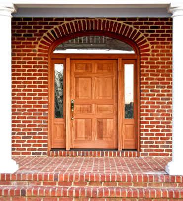 Solid wood front door4