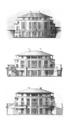TSmierzchalski - North Villa_East Elevation