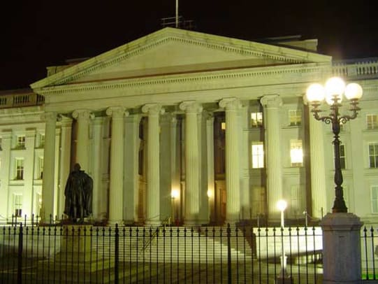 weathercap-united-states-treasury-building