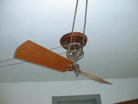 woolen-mill-fan-rhea-belt-and-pulley-iron-with-bronze-pulleys