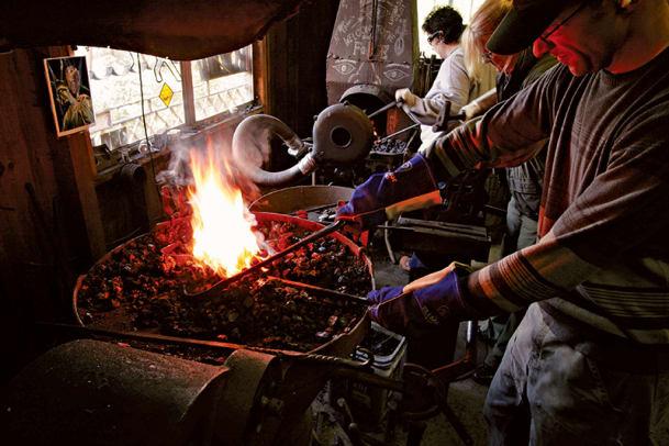 5--Clatsop-Blacksmithing