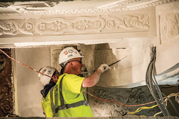 Ornamental Plaster in Today's Traditional Market