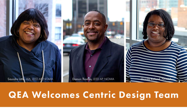Centric Design Studio Leadership Joins Quinn Evans Architects