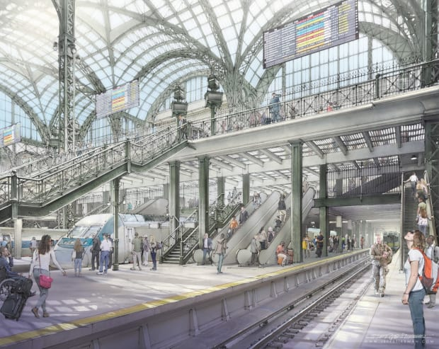ReThinkNYC: Moynihan Train Hall Opening