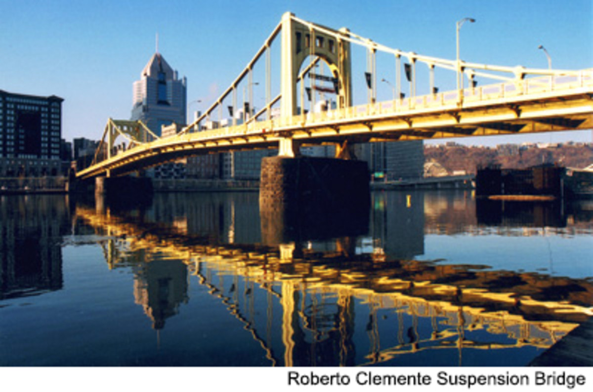 Robert Clemente Suspension Bridge