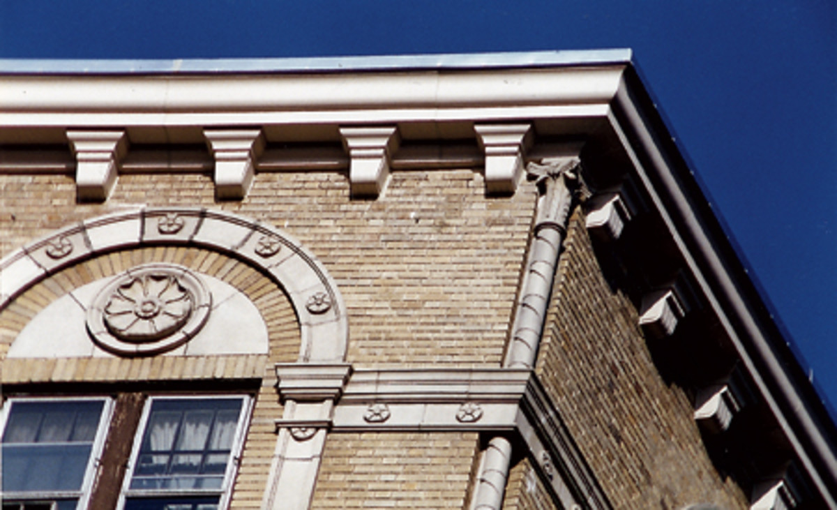 options for precast ornament for historic building